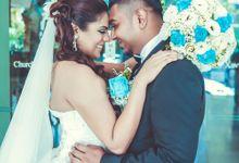 Tinesh & Rekha by Alangkaar Bridal Studio