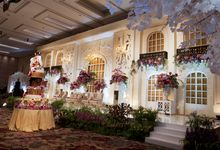 The Wedding of Cindy and Christophe by Elssy Design