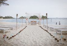 The dream wedding by the beach by Zonzon Productions