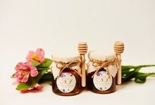 Personalized Wedding Favors by Craft Kitchen