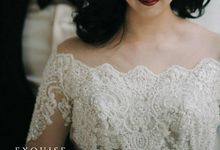 Colleen and Christian Wedding by Exquise Gowns