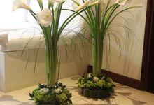 Center Piece by Bali Tropical Florist