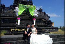 wedding photo shoot by Therisia MUA
