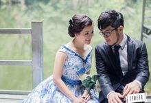 Ms Happy prewedding pictures by YANNA CHEN ATELIER