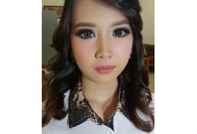 Makeup for Ms. Mega by The Bridea