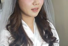 Makeup for Ms Dessy by The Bridea