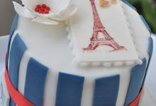One-Tier Wedding cakes by Susucre Pte Ltd