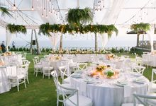 Organic White Wedding by Hari Indah Wedding Planning & Design