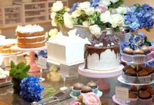 Private tasting day at our showroom by Ivoire Cake Design