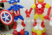 Balloon Character by House of Balloon