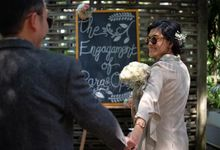 Rara & Opik Engagement by Garland Galore Flower Shop