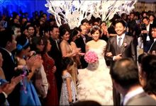 Wedding of Gaery & Felicia at  Mulia Hotel Jakarta by William Sam