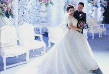 WEDDING WILLY & ALVIONITA by Stephanie Amanda Couture