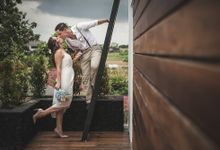 Cara and Sam Wedding at villa Vogel by Ferry Tjoe Photography