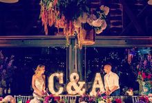 Cara & Adam by EventHaus