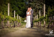 NoFo Winery Wedding at Bedell Cellars by Femina Photo + Design