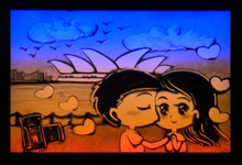 Sand Art video by Sandy Stories Pte Ltd