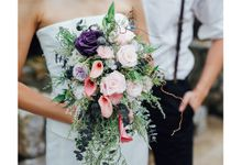 Preserved Flower Bridal Bouquet by BloomBack