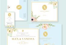Alex & Vanessa by Paper and Oath