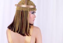 EGYPTIAN GODDESS by FEMI APRIL MAKE UP