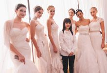 Backstage at A Journey of Timeless Elegance by Celest Thoi