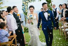 James & Xioalin by Bali Exclusive Wedding