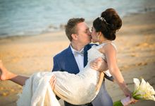 Rossa & Aaron wedding day by Luxima Photography