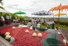 Mona & Gerard Wedding by Hidden Hills Villas