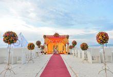 Beach Wedding by The Bellevue Resort