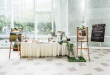 Rustic Botanical Wedding by Manna Pot Catering