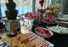Chocolate Fountain Buffet Dessert Station Package - 300pax by Qaisha International