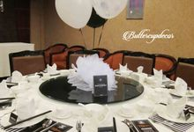 Chanel theme 17th birthday by Buttercup Decoration