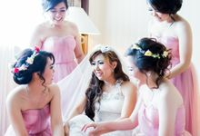 Chris & Angel Wedding by MALVA Bridesmaids