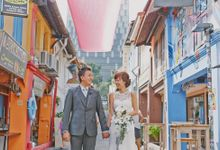 Wedding of Claire and Shengwei by Vanilla House Creations