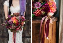 Autumn wedding by Wild Blossom Flowers