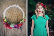 Mexican themed wedding by Wild Blossom Flowers