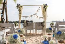 Beach Wedding at Coastes by Coastes
