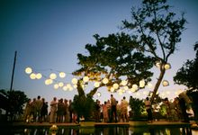 Wedding Ceremony and Dinner Reception by The Seminyak Beach Resort & Spa
