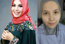 Kursus MUA • Pengantin Hijab • Modern Wedding by Rumah Rias Itut Bambang