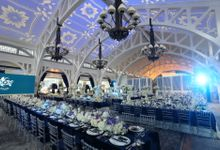 Fifty Shades of Blue by The Wedding Atelier