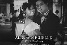 Alex & Michelle by Creative Light Photo Studio