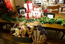 Christmas Event Styling by AROF (A ROOMFUL OF FLOWERS)