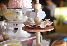 Sweet corner wedding package by Elly`s Cake Art Boutique