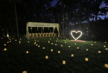 kayumanis nusa dua-dinner reception-green patio by Kayumanis Private Villa and Spa