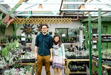 Green House Engagement Shoot by Rebecca Ou Photography