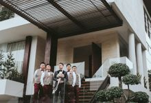 WEDDING DAY OF DANNY & EVELYN by MORDEN