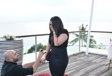 Sam & Jess Marriage Proposal by Sheraton Bali Kuta Resort