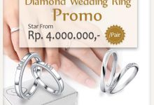 Wedding Ring Promo Desember by V&Co Jewellery