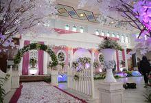 Gaun  Resepsi Nikah Hana & Fauzi by LAKSMI  0817 0370 7670 by LAKSMI - Kebaya Muslimah & Islamic Bride