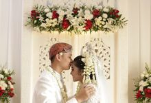 Dilla Ajafar Wedding by Levina Katherine Couture